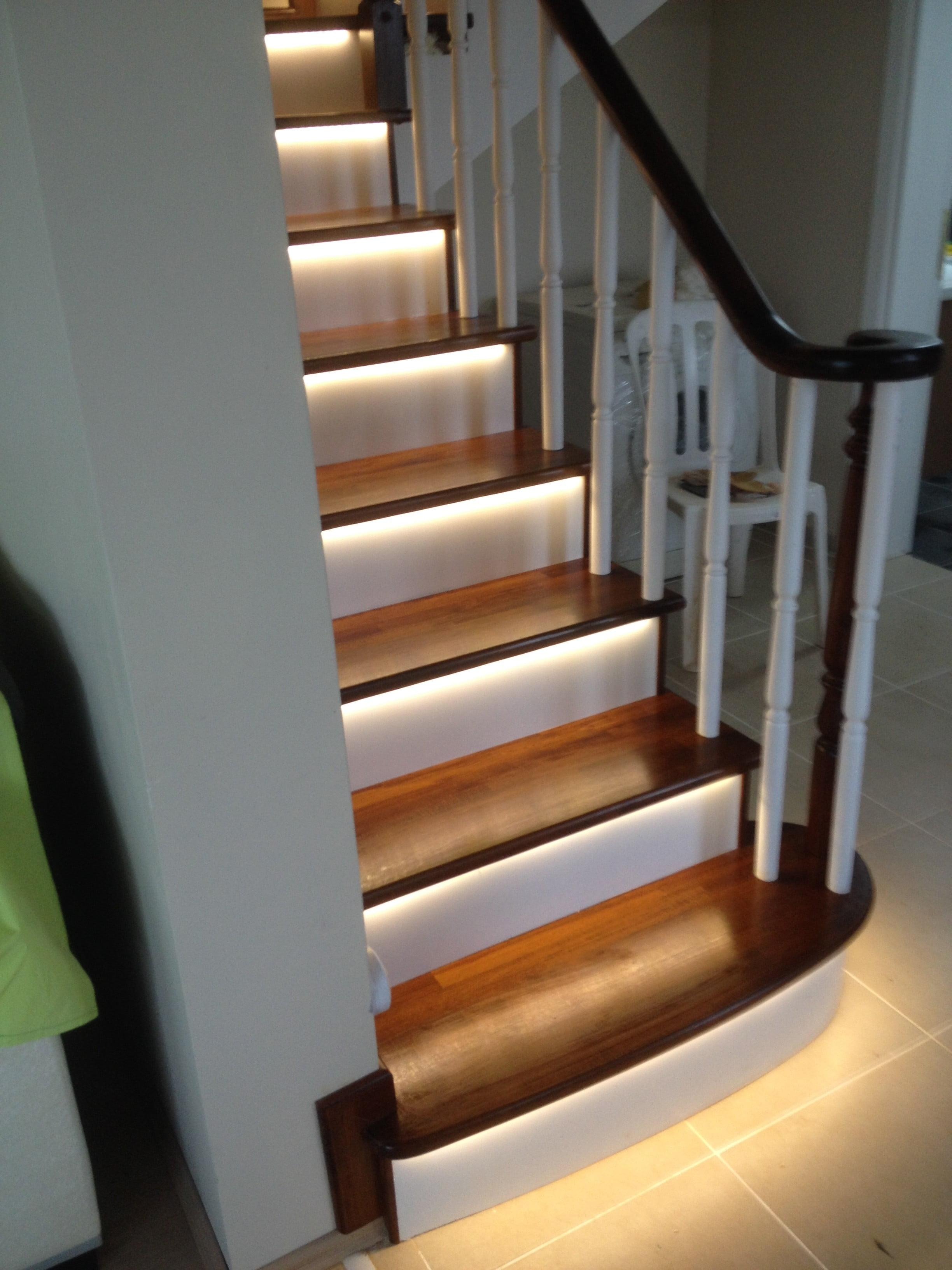 ledli merdiven