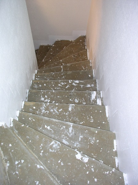 beton hali merdiven